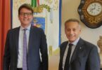 Girolamo Di Fazio e l'assessore regionale Marco Zambuto