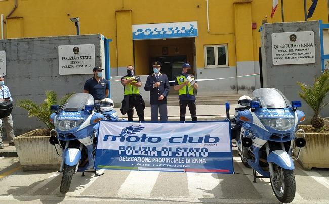 L'inaugurazione del Motorclub Polizia di Stato