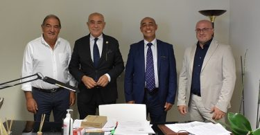 Emanuele Cassarà, Francesco Iudica, Ciro Viscuso e Salvatore Cordovana